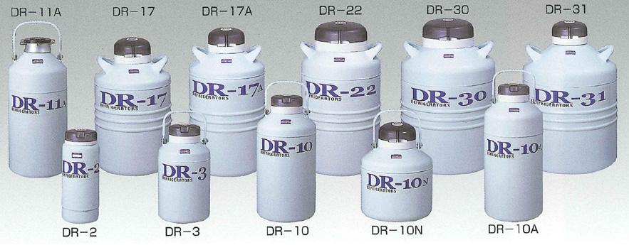液体窒素凍結保存容器